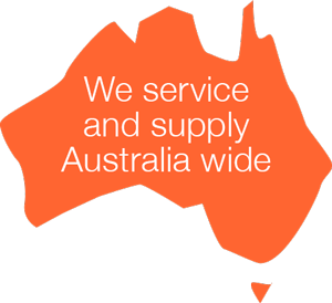 We supply and service Australia Wide