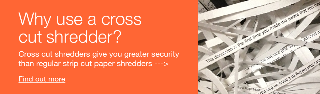 Find out more on cross cut paper shredders